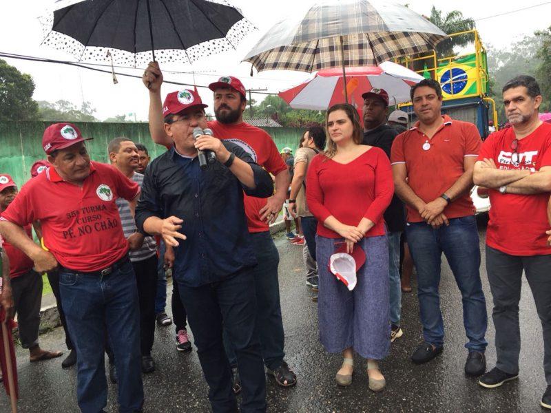 Duque e Marília na Marcha Lula Livre, Lula Inocente, – Blog do ...